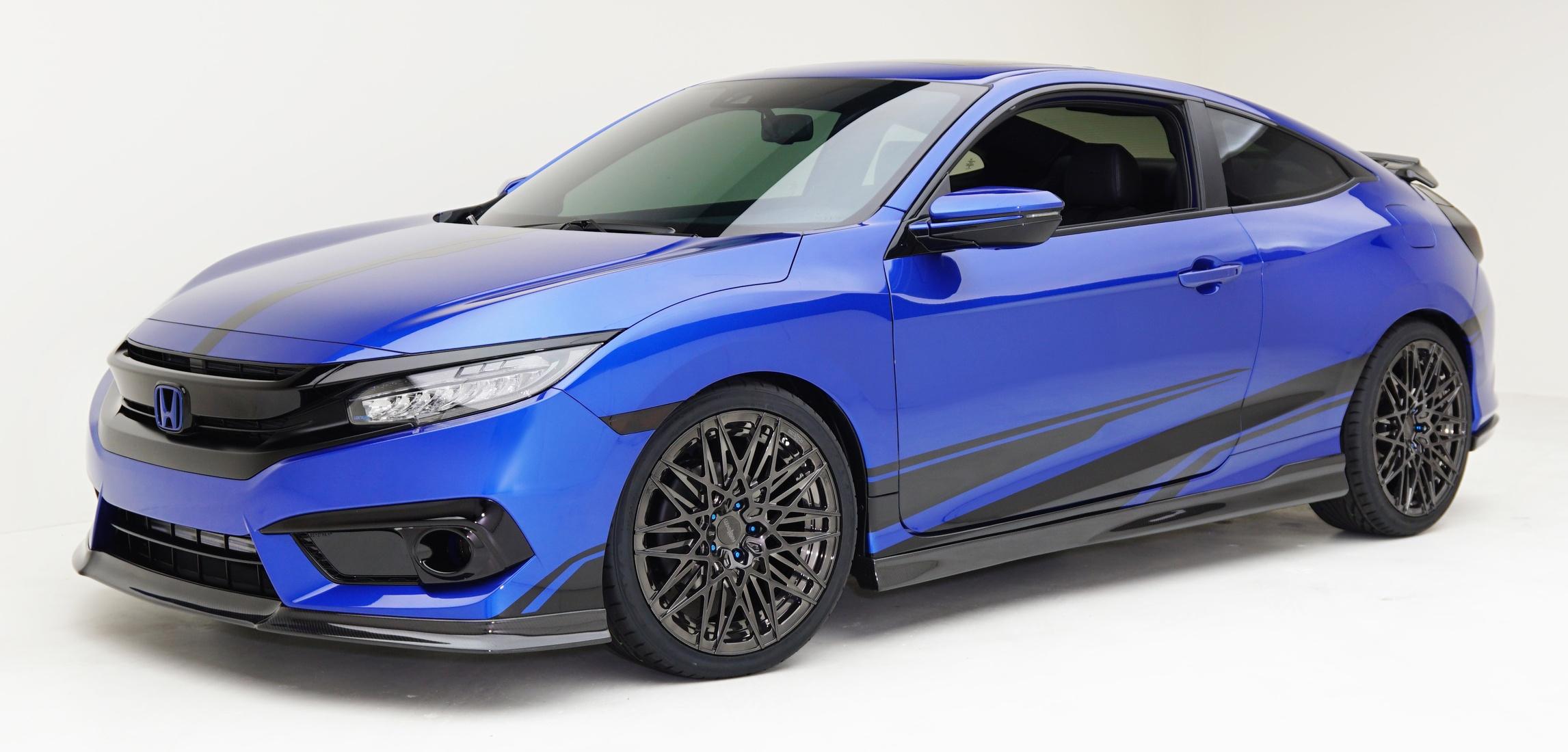 Honda Civic Dengan Modifikasi Muncul Di SEMA Image 573465
