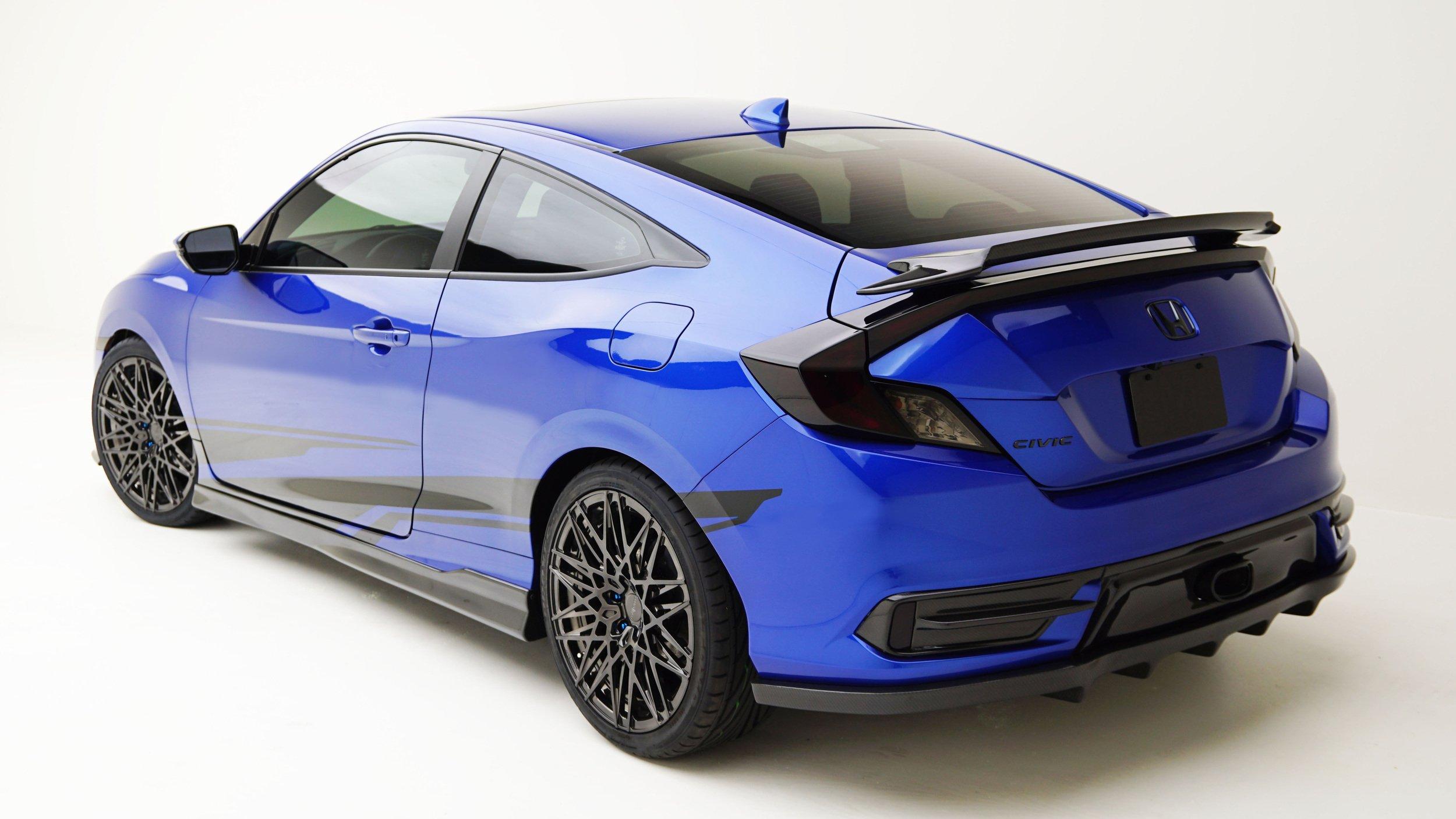 Honda Civic dengan modifikasi muncul di SEMA Image #573468
