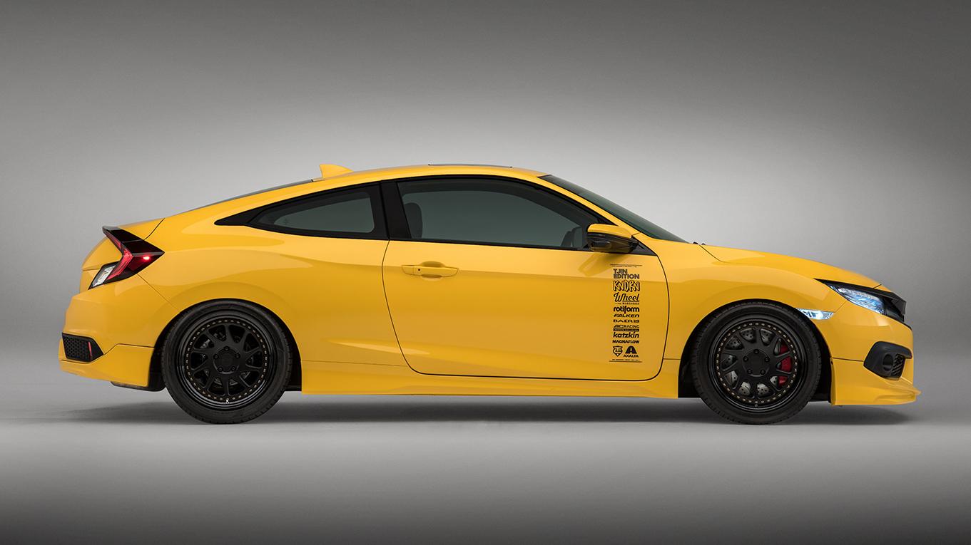 Honda Civic dengan modifikasi muncul di SEMA Image #573477