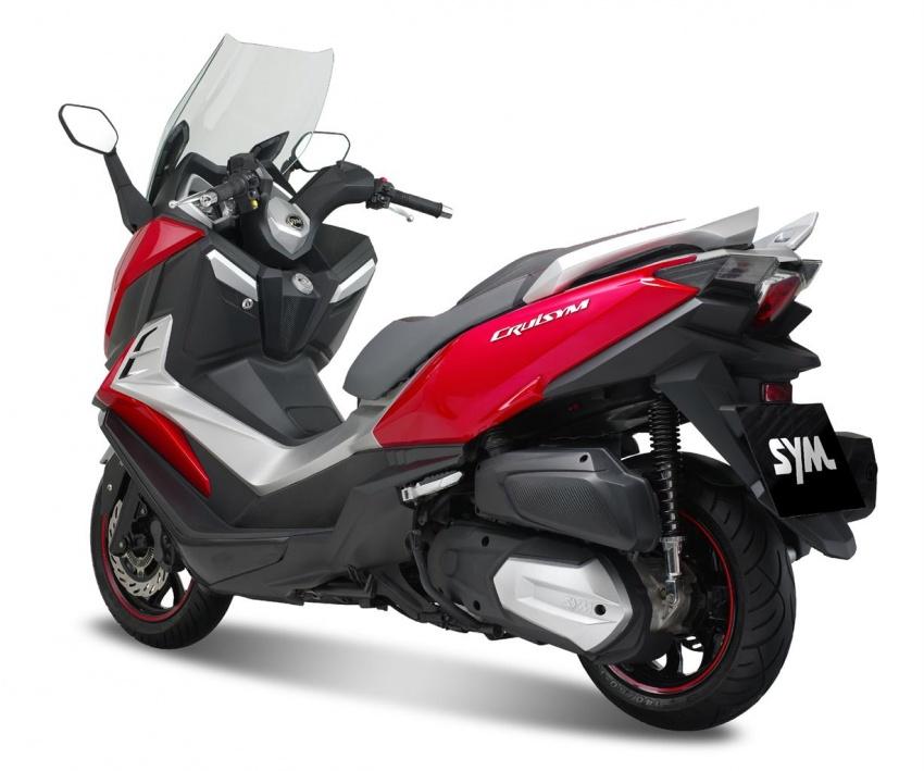 SYM bakal lancar skuter CRUiSYM 300i tahun depan Image #584349