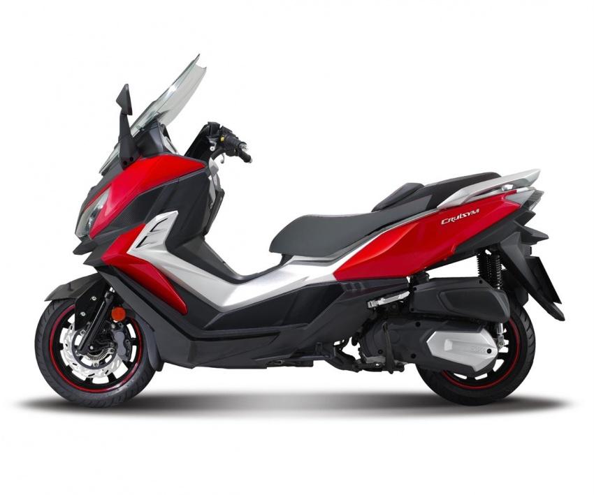 SYM bakal lancar skuter CRUiSYM 300i tahun depan Image #584351