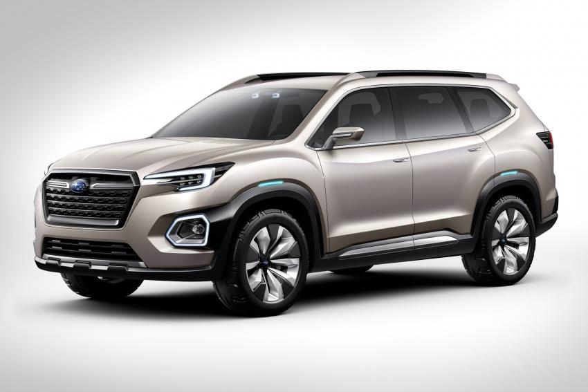 Subaru Viziv-7 Concept debuts – seven-seater SUV Image #581333
