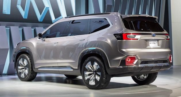 Subaru Viziv Concept Debuts Seven Seater Suv