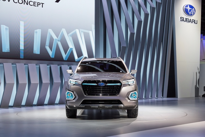 Subaru Viziv-7 Concept debuts – seven-seater SUV Image #581343