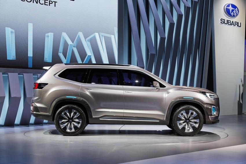 Subaru Viziv-7 Concept debuts – seven-seater SUV Image #581344