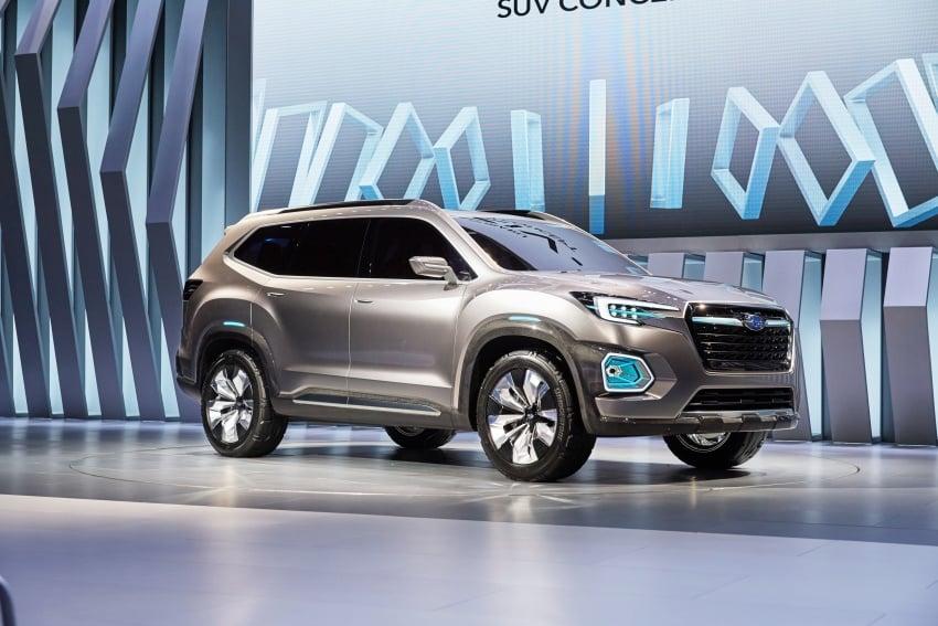 Subaru Viziv-7 Concept debuts – seven-seater SUV Image #581348
