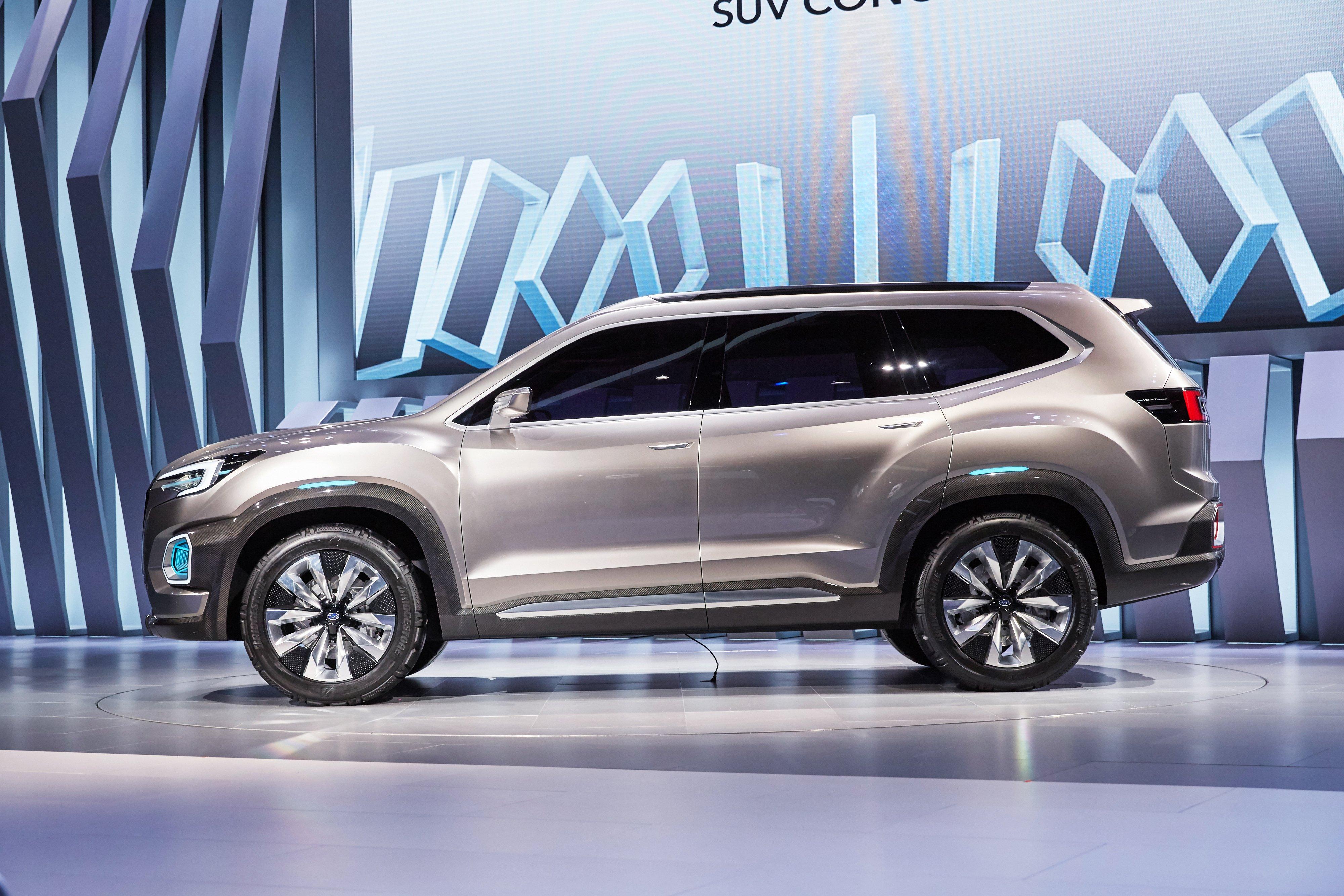 7 Seater Vehicles >> Subaru Viziv-7 Concept debuts – seven-seater SUV Paul Tan - Image 581349