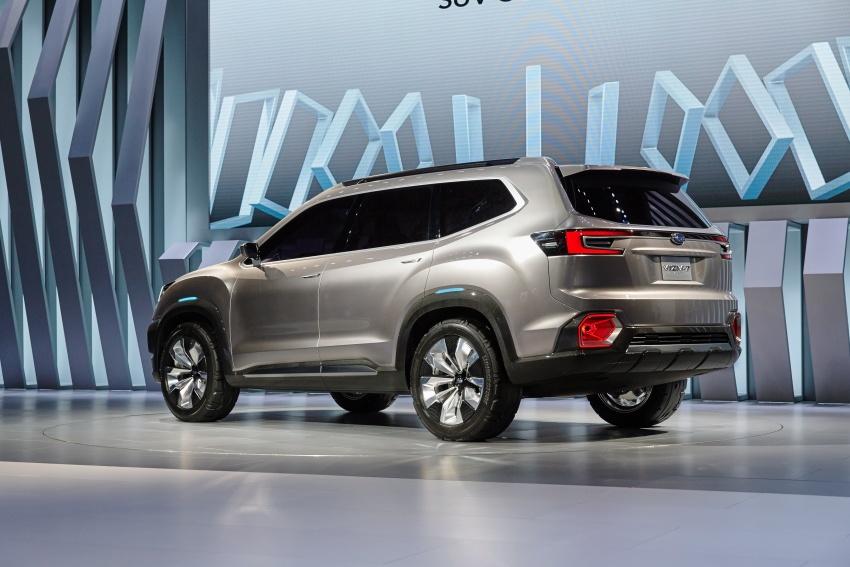 Subaru Viziv-7 Concept debuts – seven-seater SUV Image #581351