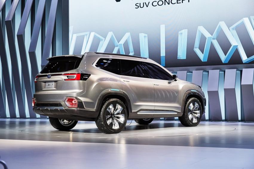 Subaru Viziv-7 Concept debuts – seven-seater SUV Image #581352