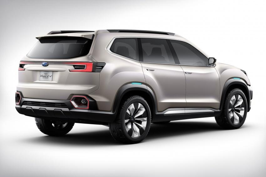 Subaru Viziv-7 Concept debuts – seven-seater SUV Image #581334