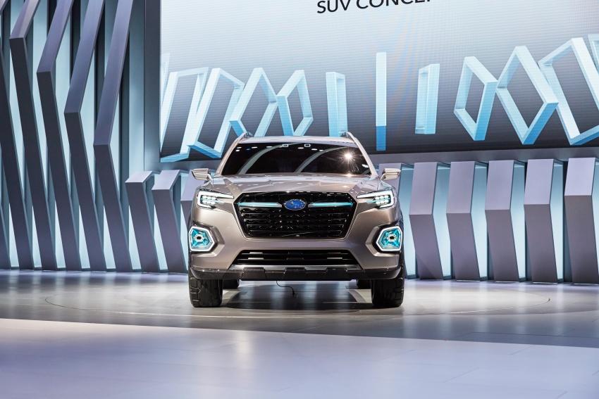 Subaru Viziv-7 Concept debuts – seven-seater SUV Image #581353