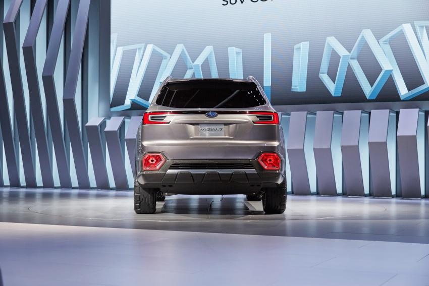 Subaru Viziv 7 Concept Debuts Seven Seater Suv Image 581355