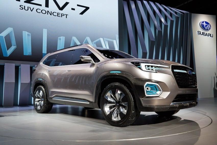 Subaru Viziv-7 Concept debuts – seven-seater SUV Image #581356