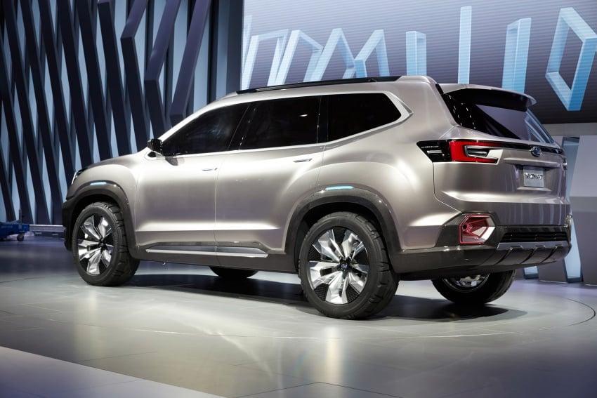 Subaru Viziv-7 Concept debuts – seven-seater SUV Image #581358