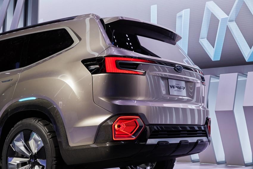 Subaru Viziv-7 Concept debuts – seven-seater SUV Image #581360