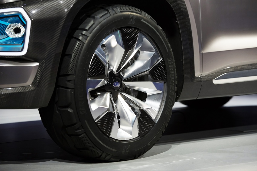 Subaru Viziv-7 Concept debuts – seven-seater SUV Image #581362
