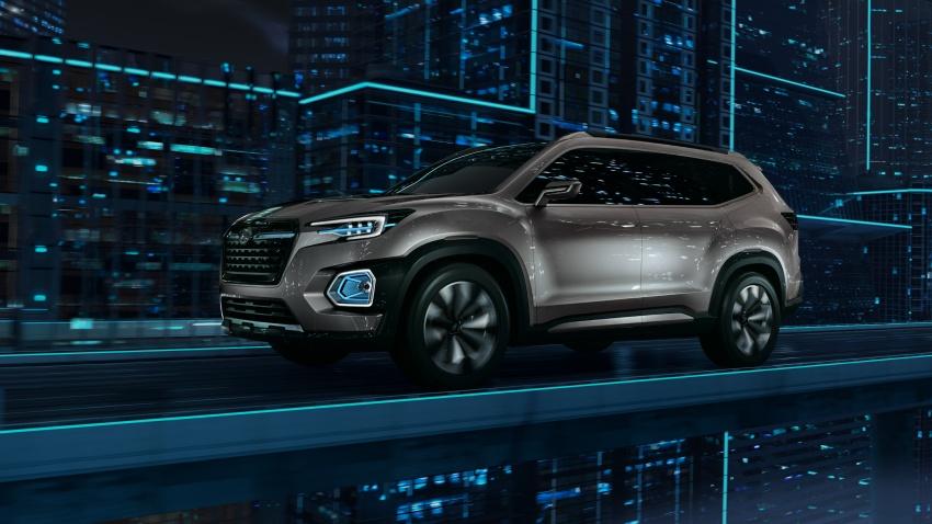 Subaru Viziv-7 Concept debuts – seven-seater SUV Image #581363