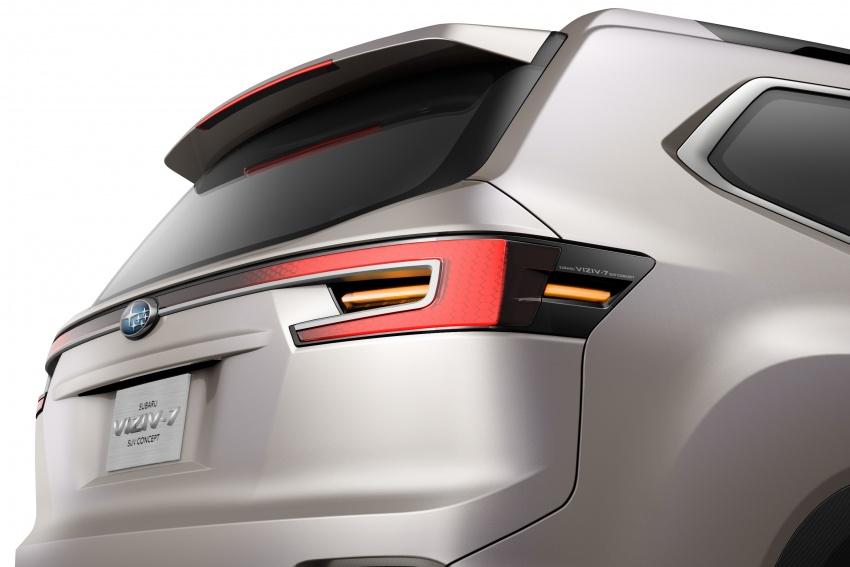 Subaru Viziv-7 Concept debuts – seven-seater SUV Image #581337