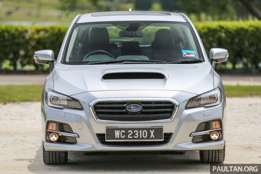 DRIVEN: Subaru Levorg 1.6 GT-S – a firm approach Image #578872