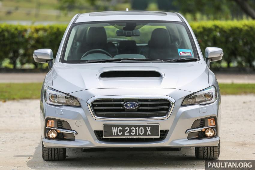 DRIVEN: Subaru Levorg 1.6 GT-S – a firm approach Image #578872