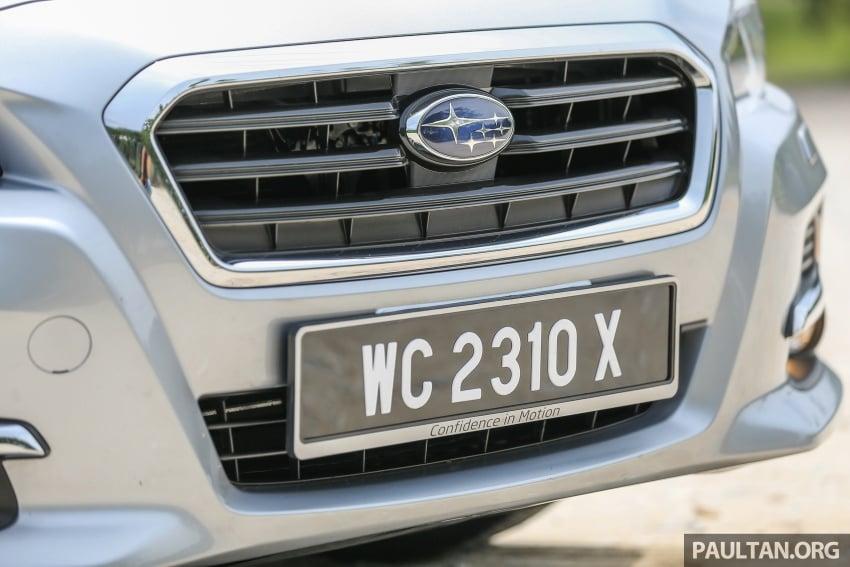 DRIVEN: Subaru Levorg 1.6 GT-S – a firm approach Image #578884