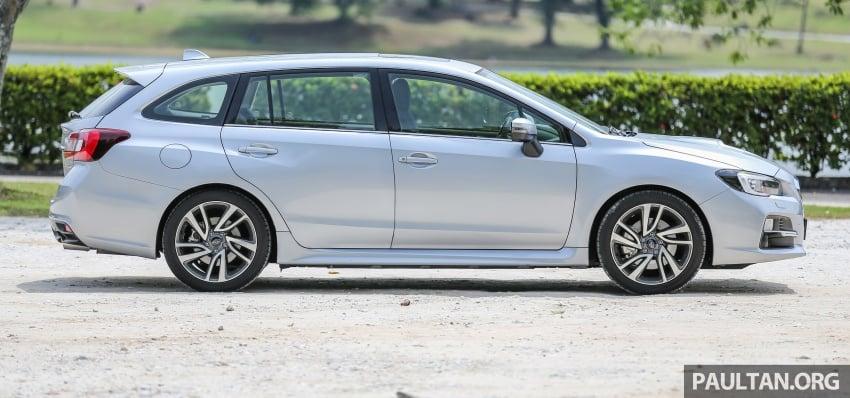 DRIVEN: Subaru Levorg 1.6 GT-S – a firm approach Image #578886