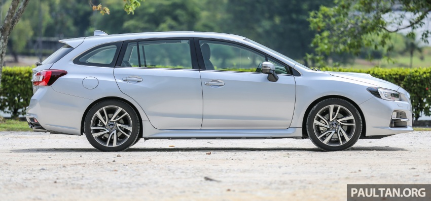 DRIVEN: Subaru Levorg 1.6 GT-S – a firm approach Image #578887