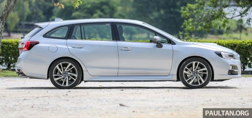 DRIVEN: Subaru Levorg 1.6 GT-S – a firm approach Image #578887