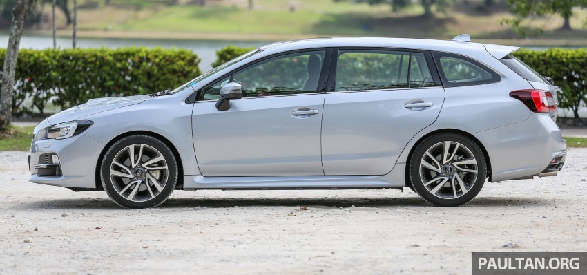 DRIVEN: Subaru Levorg 1.6 GT-S – a firm approach Image #578888