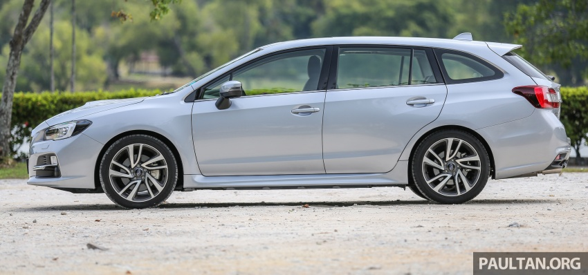 DRIVEN: Subaru Levorg 1.6 GT-S – a firm approach Image #578798