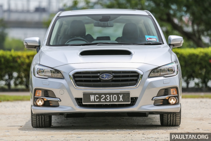 DRIVEN: Subaru Levorg 1.6 GT-S – a firm approach Image #578873