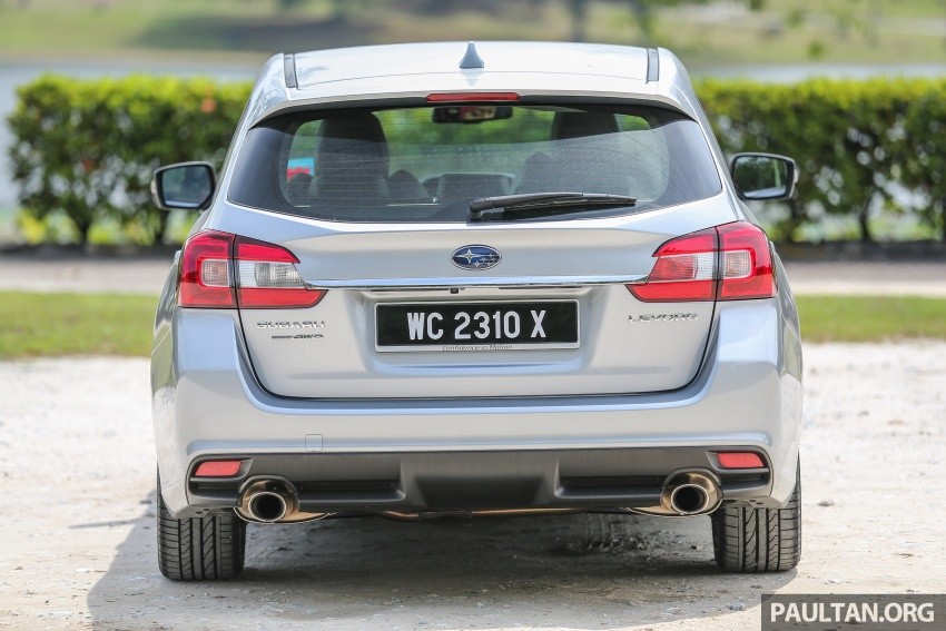 DRIVEN: Subaru Levorg 1.6 GT-S – a firm approach Image #578805