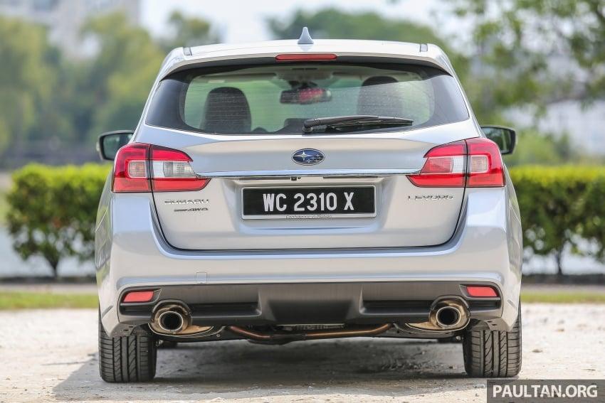 DRIVEN: Subaru Levorg 1.6 GT-S – a firm approach Image #578806