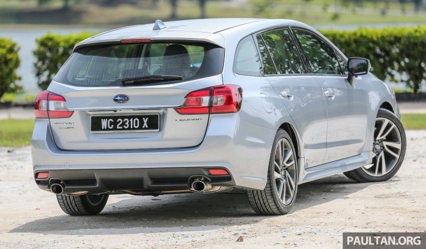 DRIVEN: Subaru Levorg 1.6 GT-S – a firm approach Image #578807
