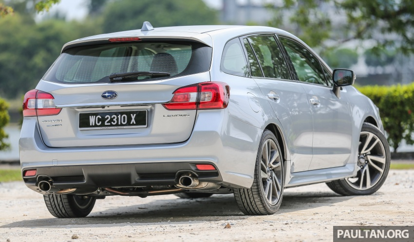 DRIVEN: Subaru Levorg 1.6 GT-S – a firm approach Image #578808
