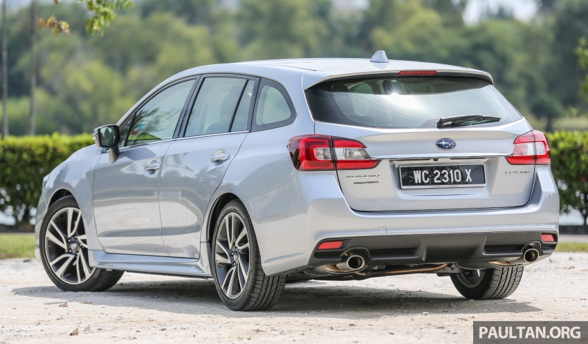DRIVEN: Subaru Levorg 1.6 GT-S – a firm approach Image #578810