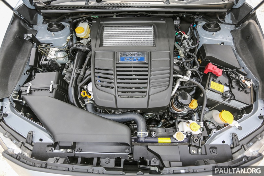 DRIVEN: Subaru Levorg 1.6 GT-S – a firm approach Image #578820