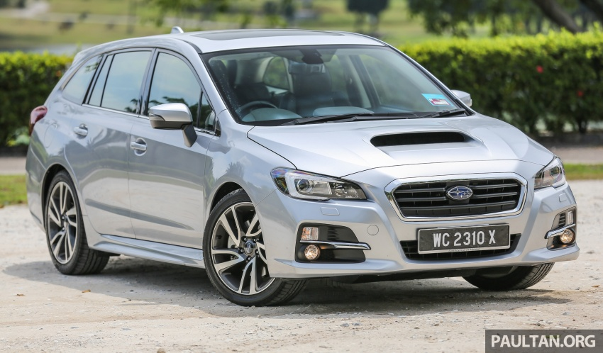 DRIVEN: Subaru Levorg 1.6 GT-S – a firm approach Image #578876
