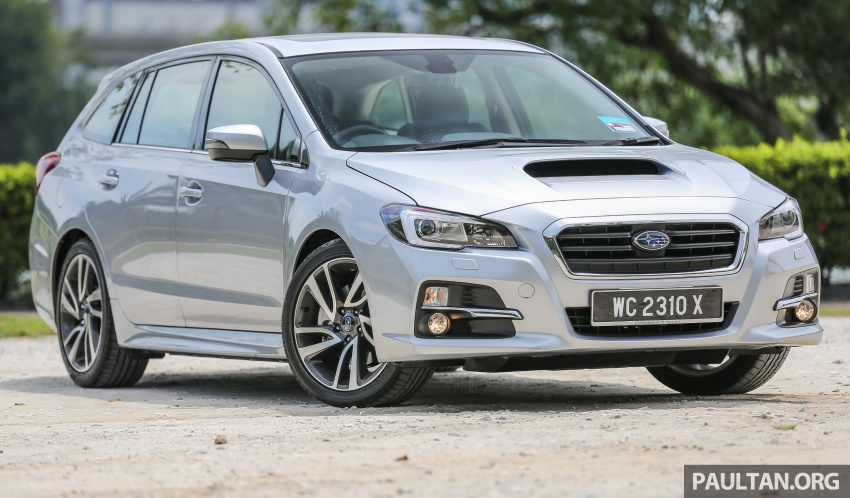 DRIVEN: Subaru Levorg 1.6 GT-S – a firm approach Image #578877