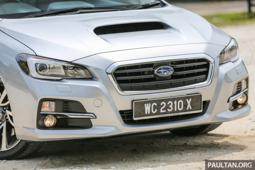 DRIVEN: Subaru Levorg 1.6 GT-S – a firm approach Image #578878