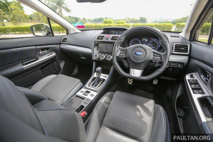 DRIVEN: Subaru Levorg 1.6 GT-S – a firm approach Image #578858