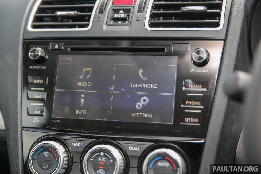 DRIVEN: Subaru Levorg 1.6 GT-S – a firm approach Image #578827