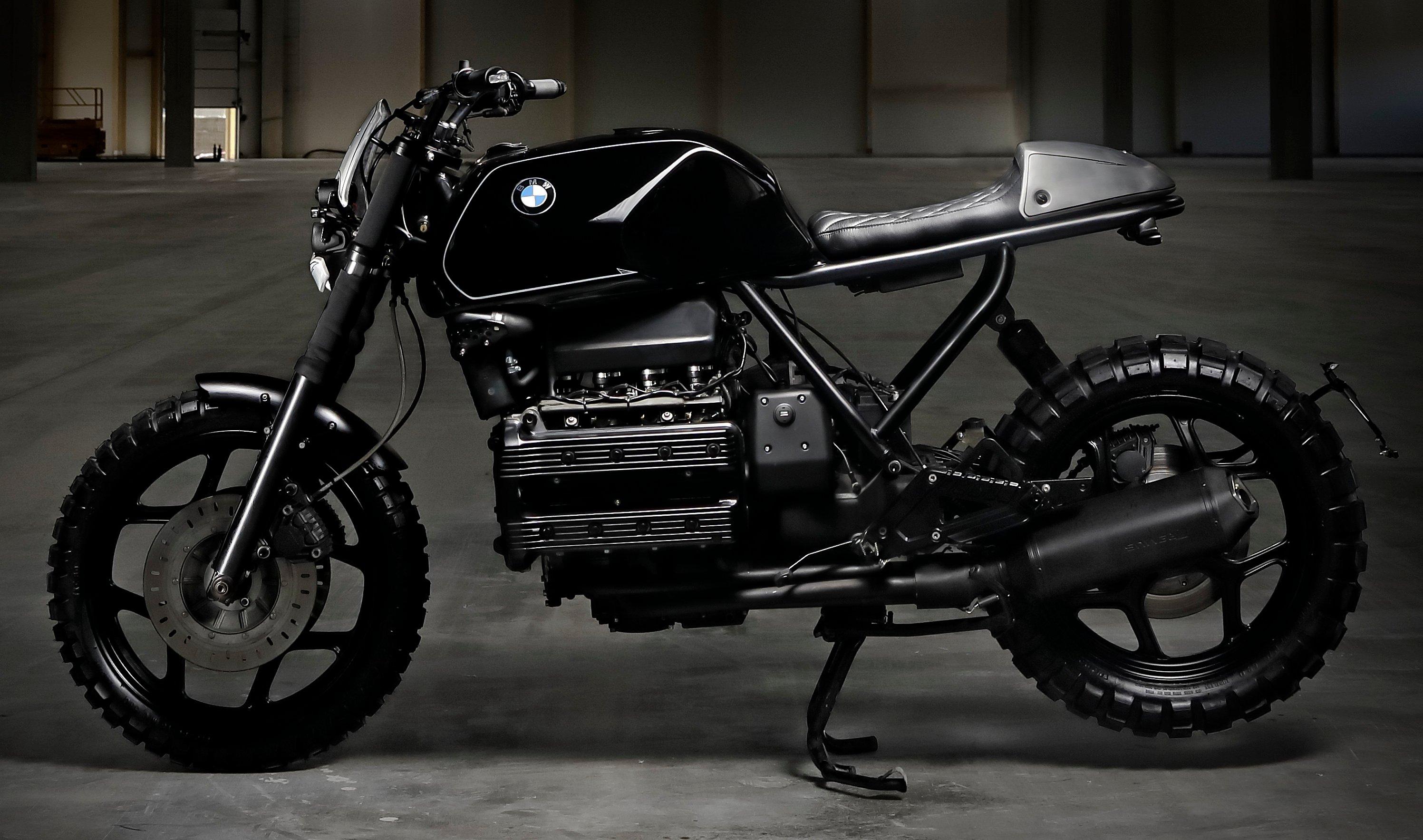 Bevorzugt VIDEO: BMW Motorrad K100 Xaver custom scrambler XH01