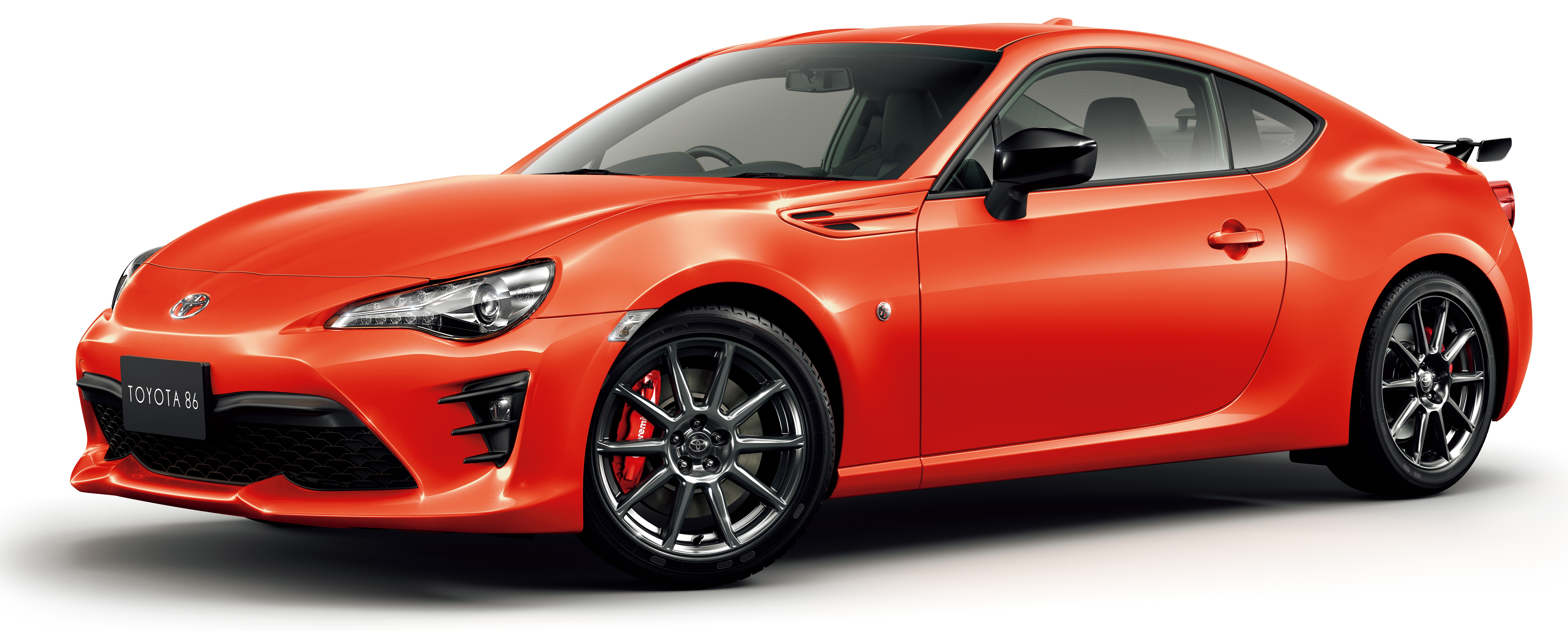 Toyota Of Orange >> Toyota 86 gets Solar Orange Limited model, High Performance Package with Brembo brakes in Japan ...