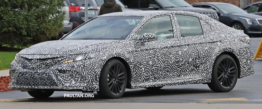 SPIED: Next Toyota Camry to spawn sportier model? Image #572481