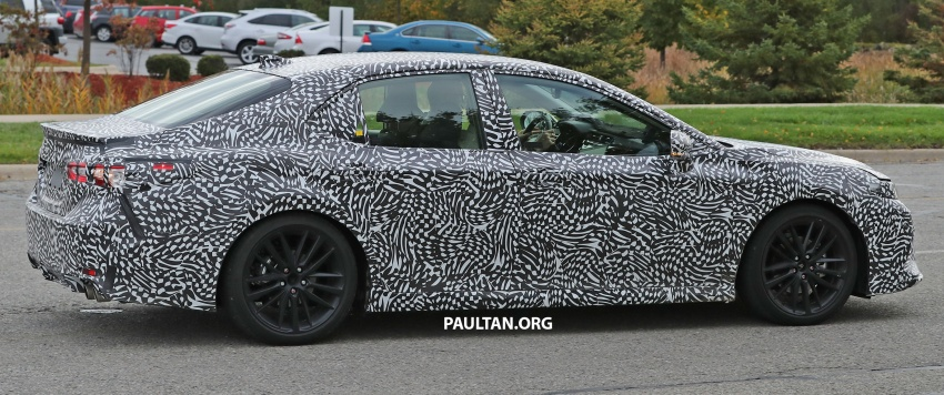 SPIED: Next Toyota Camry to spawn sportier model? Image #572492