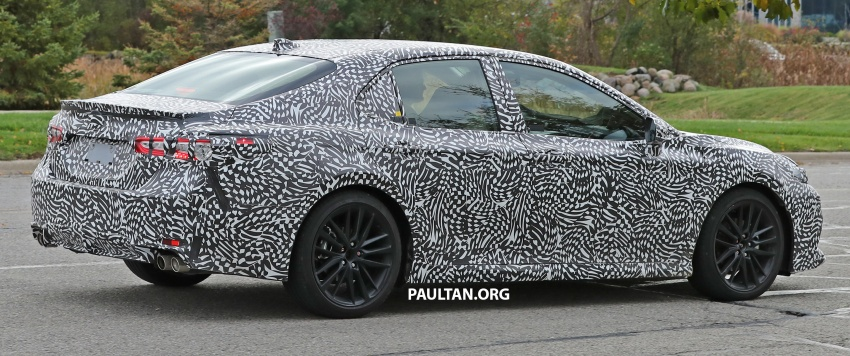 SPIED: Next Toyota Camry to spawn sportier model? Image #572493