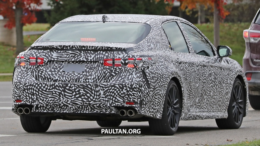 SPIED: Next Toyota Camry to spawn sportier model? Image #572494