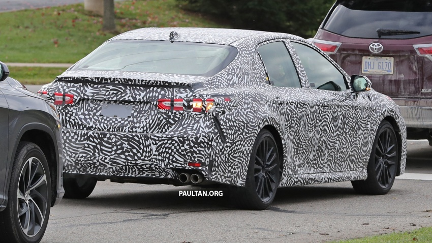 SPIED: Next Toyota Camry to spawn sportier model? Image #572495