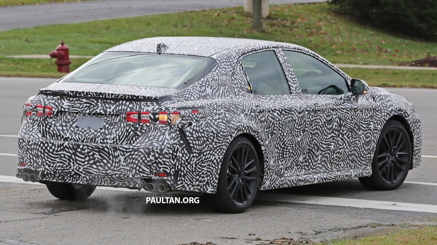 SPIED: Next Toyota Camry to spawn sportier model? Image #572496